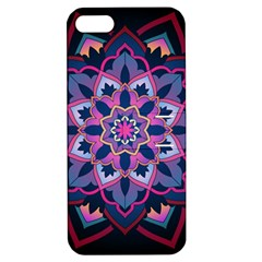 Mandala Circular Pattern Apple Iphone 5 Hardshell Case With Stand