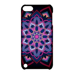 Mandala Circular Pattern Apple Ipod Touch 5 Hardshell Case With Stand
