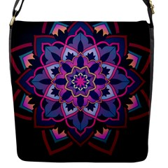 Mandala Circular Pattern Flap Messenger Bag (s)