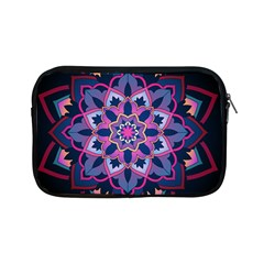 Mandala Circular Pattern Apple Ipad Mini Zipper Cases