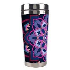 Mandala Circular Pattern Stainless Steel Travel Tumblers