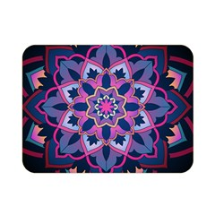 Mandala Circular Pattern Double Sided Flano Blanket (mini)