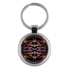 Wallpaper Abstract Art Light Key Chains (round)
