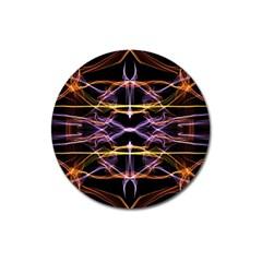 Wallpaper Abstract Art Light Magnet 3  (round)