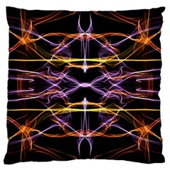 Wallpaper Abstract Art Light Large Cushion Case (two Sides)
