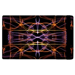 Wallpaper Abstract Art Light Apple Ipad 2 Flip Case