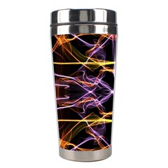 Wallpaper Abstract Art Light Stainless Steel Travel Tumblers