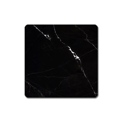 Black Marble Tiles Rock Stone Statues Square Magnet