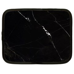 Black Marble Tiles Rock Stone Statues Netbook Case (xl)