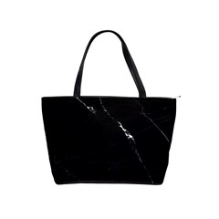 Black Marble Tiles Rock Stone Statues Shoulder Handbags