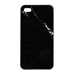 Black Marble Tiles Rock Stone Statues Apple Iphone 4/4s Seamless Case (black)