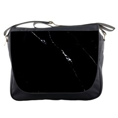 Black Marble Tiles Rock Stone Statues Messenger Bags