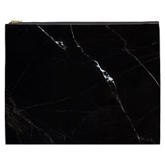 Black Marble Tiles Rock Stone Statues Cosmetic Bag (xxxl)