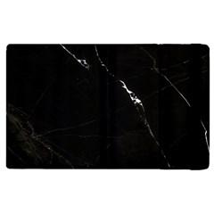 Black Marble Tiles Rock Stone Statues Apple Ipad 2 Flip Case