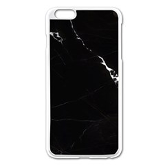 Black Marble Tiles Rock Stone Statues Apple Iphone 6 Plus/6s Plus Enamel White Case