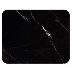 Black Marble Tiles Rock Stone Statues Double Sided Flano Blanket (medium)