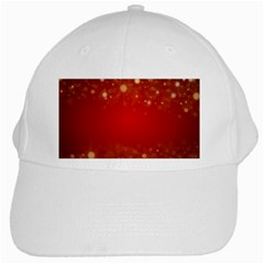 Background Abstract Christmas White Cap
