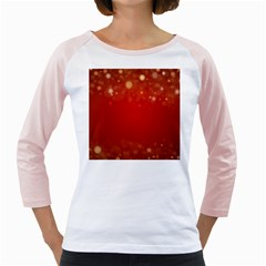 Background Abstract Christmas Girly Raglans