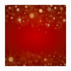Background Abstract Christmas Medium Glasses Cloth (2 Side)