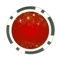 Background Abstract Christmas Poker Chip Card Guard