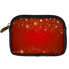 Background Abstract Christmas Digital Camera Cases