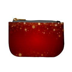 Background Abstract Christmas Mini Coin Purses