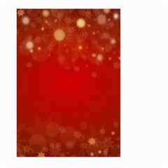 Background Abstract Christmas Large Garden Flag (two Sides)