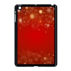 Background Abstract Christmas Apple Ipad Mini Case (black)