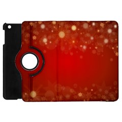 Background Abstract Christmas Apple Ipad Mini Flip 360 Case