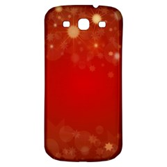 Background Abstract Christmas Samsung Galaxy S3 S Iii Classic Hardshell Back Case