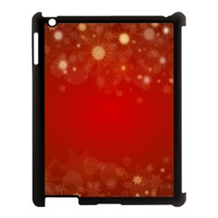 Background Abstract Christmas Apple Ipad 3/4 Case (black)