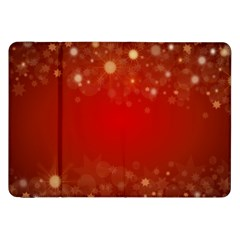 Background Abstract Christmas Samsung Galaxy Tab 8 9  P7300 Flip Case