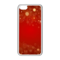 Background Abstract Christmas Apple Iphone 5c Seamless Case (white)
