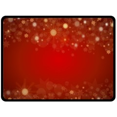 Background Abstract Christmas Double Sided Fleece Blanket (large)