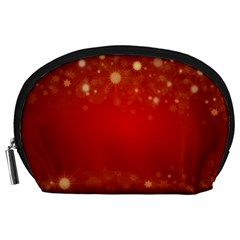 Background Abstract Christmas Accessory Pouches (large)
