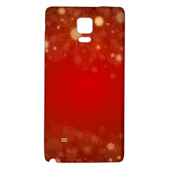Background Abstract Christmas Galaxy Note 4 Back Case by Nexatart