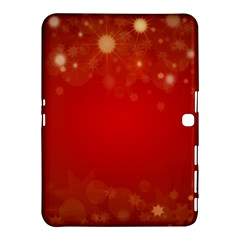 Background Abstract Christmas Samsung Galaxy Tab 4 (10 1 ) Hardshell Case