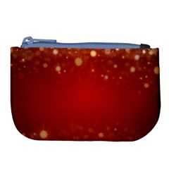 Background Abstract Christmas Large Coin Purse