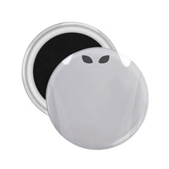Ghost Halloween Spooky Horror Fear 2 25  Magnets by Nexatart