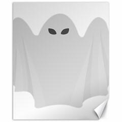 Ghost Halloween Spooky Horror Fear Canvas 16  X 20