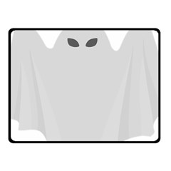 Ghost Halloween Spooky Horror Fear Fleece Blanket (small)