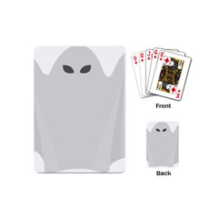 Ghost Halloween Spooky Horror Fear Playing Cards (mini)