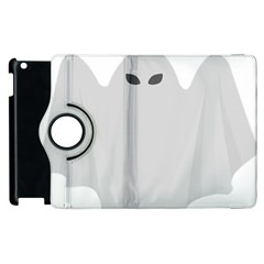 Ghost Halloween Spooky Horror Fear Apple Ipad 3/4 Flip 360 Case