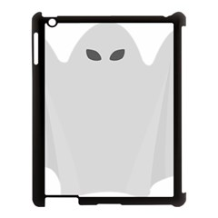 Ghost Halloween Spooky Horror Fear Apple Ipad 3/4 Case (black)