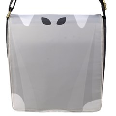 Ghost Halloween Spooky Horror Fear Flap Messenger Bag (s)