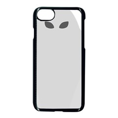 Ghost Halloween Spooky Horror Fear Apple Iphone 7 Seamless Case (black)