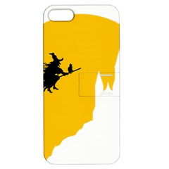 Castle Cat Evil Female Fictiona Apple Iphone 5 Hardshell Case With Stand