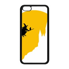 Castle Cat Evil Female Fictiona Apple Iphone 5c Seamless Case (black)