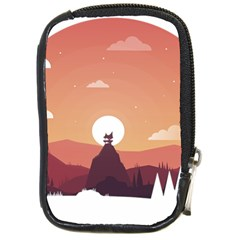 Design Art Hill Hut Landscape Compact Camera Cases