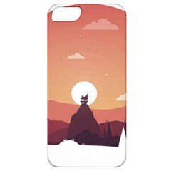 Design Art Hill Hut Landscape Apple Iphone 5 Classic Hardshell Case